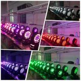 CE19PCS 15W RGBW DMX LED Moving Head Light DJ Equipment per la discoteca