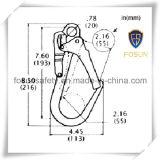 El broche de presión de calidad superior de la fuente ISO9001 engancha el gancho de leva de Carabiner con cinc de la calidad