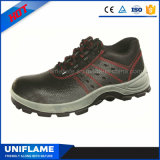 Zapatos de seguridad de acero de la marca de fábrica del casquillo de la punta de los hombres Ufa001
