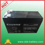 "bateria acidificada ao chumbo do AGM de 12V 9ah para UPS, protetor de impulso, ""trotinette"""