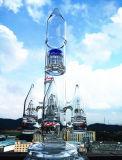 Conduite d'eau de fumage en verre de tabac de sûreté et de livraison rapide de constructeur de la Chine