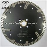 Cb-14 turboBlad met Beschermende Tanden voor het Knipsel van het Graniet