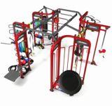 Gymnastik-Gebrauch Crossfit Synrgy360 Trainings-Gruppe