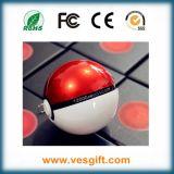 12000 mAh Pokemonは速い充電器携帯電話のための球LEDの行く