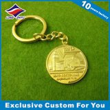 昇進の刺繍の極度の品質の柔らかいエナメルの金属Keychain