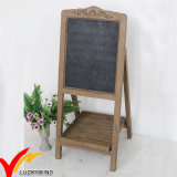 Shabby Chic Vintage Wooden Cabinet Antique Blackboard