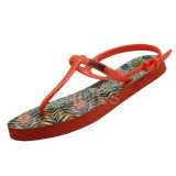 Thong Slipper de los leopardos de señora Mint