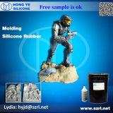 Caoutchouc de silicones de liquide de RTV 2 pour la statue de Bouddha de plâtre
