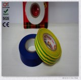 Yellow&Green를 가진 PVC Electrical Tape