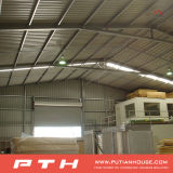 Fábrica profesional proporciona estructuras de construcción de tejas de acero