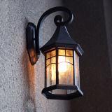 Lanterna europea della parete del giardino di stile con il disegno speciale