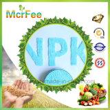 Fábrica soluble en agua 13-3-43 del fertilizante NPK del 100%