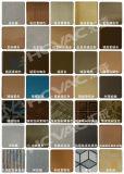 Or de feuille d'acier inoxydable/machine enduit de noir/bleu/de couleur PVD or de Rose