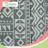 Stof Van uitstekende kwaliteit van het Kant van de Polyester van 100% de Melkachtige Geometrische