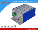 1개의 모니터 신호 서지 보호 장치에 대하여 CCTV 시스템 2