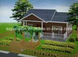 Casa móvil/chalet prefabricados de las vacaciones simples de la alta calidad/prefabricados para la gran cantidad