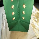 주식에 있는 장식적인 인쇄된 서류상 크리스마스 선물 부대