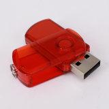 Movimentação do flash do USB da promoção do giro