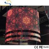 Muestra colorida de la visualización de LED de la alta calidad de interior para hacer publicidad