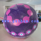 膨脹可能な浮遊立方体の気球広告かヘリウムの空の気球