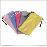 Varios colores de la bolsa de las gafas de sol de Microfiber