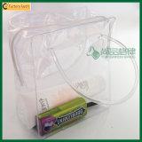 De draagbare Waterdichte Transparante Kosmetische Zak van pvc (tp-0B016)