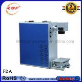 Máquina barata portátil da marcação do laser da fibra 20W para o metal