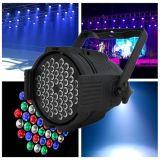 Luz de la IGUALDAD de la etapa del fabricante 54PCS 3W LED de la alta calidad