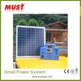 Наборы освещения разрешения силы солнечные домашние для плохого электричества