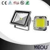 Diodo emissor de luz 10W exterior 20W 30W 50W 100W o Chile Colômbia Venezuela de Proyector