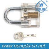 Yh9256 Goso 2016 Novo modelo 5-10 - Cadeado transparente (bloqueio de travar)