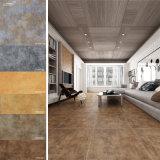 Tuile rustique de plancher en céramique intérieur de matériau de construction (600X600mm)