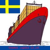 Goedkoopste Internationale Overzeese Vracht van China aan Zweden