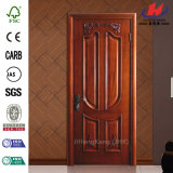 Porte en bois composée intérieure de Sapele Okoume de cendre