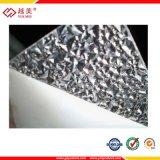 Hoja del policarbonato del diamante del material de material para techos de la ventana de la puerta