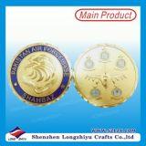 24k金のワシの軍隊賞の硬貨