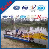 Verzamelen het Scherpe Schip van de Hyacint van de Maaimachine & van het Water van het Onkruid van de hoge Efficiency & het Drijvende Huisvuil Boot/Baggermachine voor Verkoop