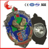 Il distintivo riutilizzabile in lega di zinco di Pin dello smalto di alta qualità della pressofusione
