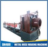 Mangueira complicada flexível hidráulica do metal que faz a máquina