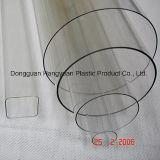 Tubulação plástica transparente para empacotar