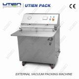 Semi-automático de escritorio externo sellado al vacío de la máquina de embalaje (DZ-600T)