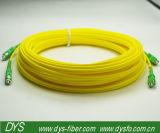 Cavalier de fibre optique duplex de Sc/APC-Sc/RPA