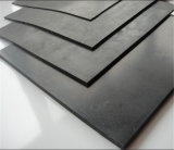 가황된 Black SBR Rubber Sheet/Pad 또는 Roll
