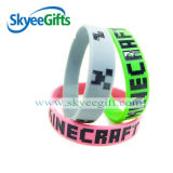 Alta qualità Debossed Color Filled Silicone Bracelets con Competitive Price