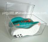 カスタム最上質の明確なアクリルの靴のディスプレイ・ケース