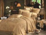 Taihuの雪の絹の贅沢な中国のTradictional文化ジャカード絹の寝具セット