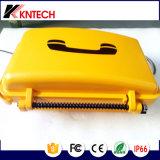 Teléfono impermeable con el corchete y Beason Knsp-01b de destello
