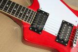 Hanhai Musik-/ungewöhnliche Form-elektrische Gitarre mit Chrom-Befestigungsteilen