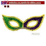 Masquerade высокого качества маскирует детали партии Mardi Gras Sequin (PS1032)