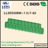 Conetor Pluggable dos blocos Ll2edgb-7.5/7.62 terminais